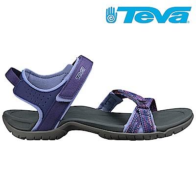 TEVA Verra 女休閒涼鞋 彩灰紫