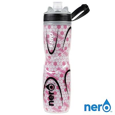 NERO FRIO 自行車雙層保冷水壺 740ml / 粉色
