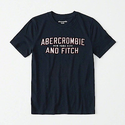 AF a&f Abercrombie & Fitch 小孩 T恤 藍色 0830