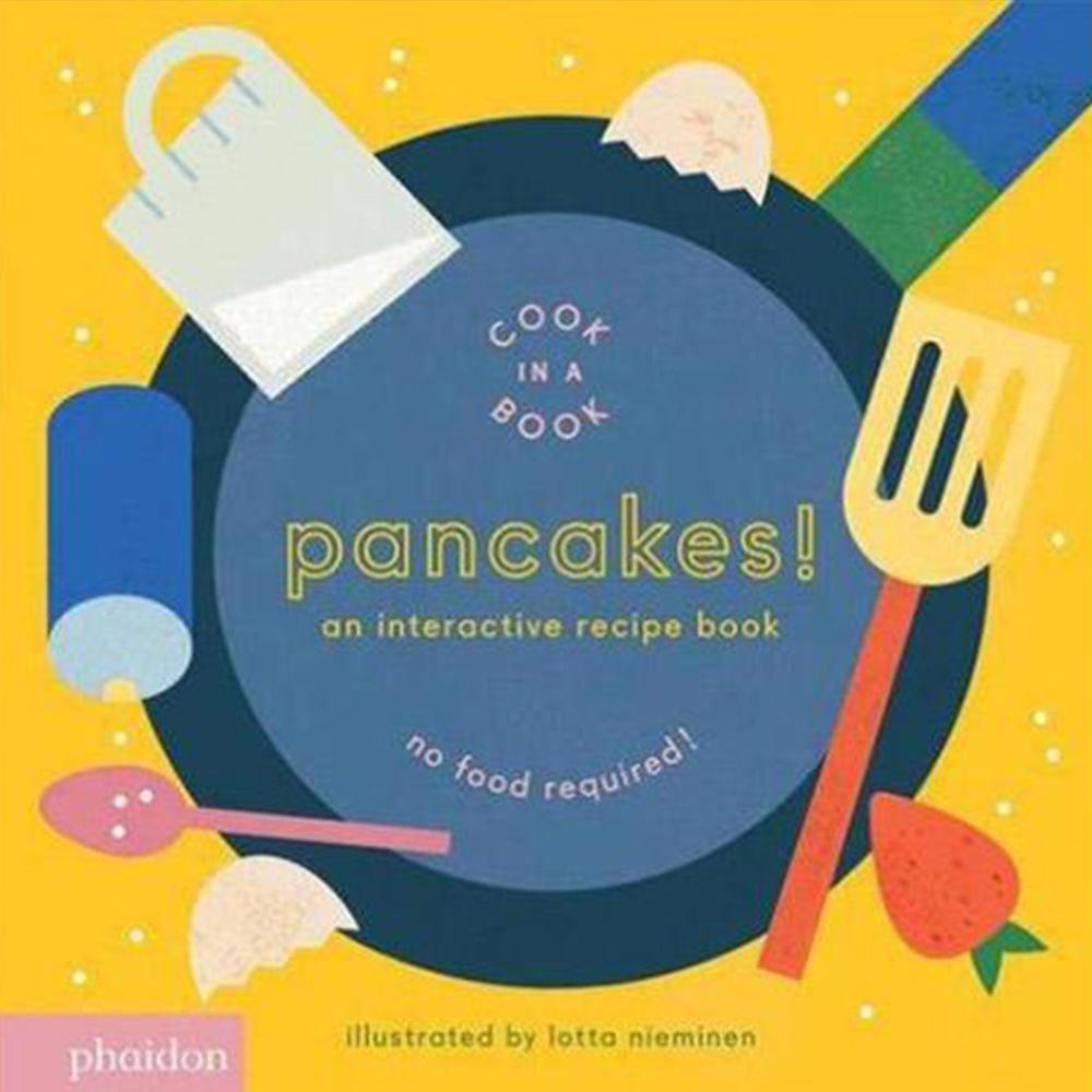 Pancakes! An Interactive Recipe Book 互動式食譜操作書