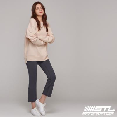 STL YOGA METRO NY 9 韓國瑜珈 地鐵合身小喇叭 運動機能訓練長褲 摩登藍