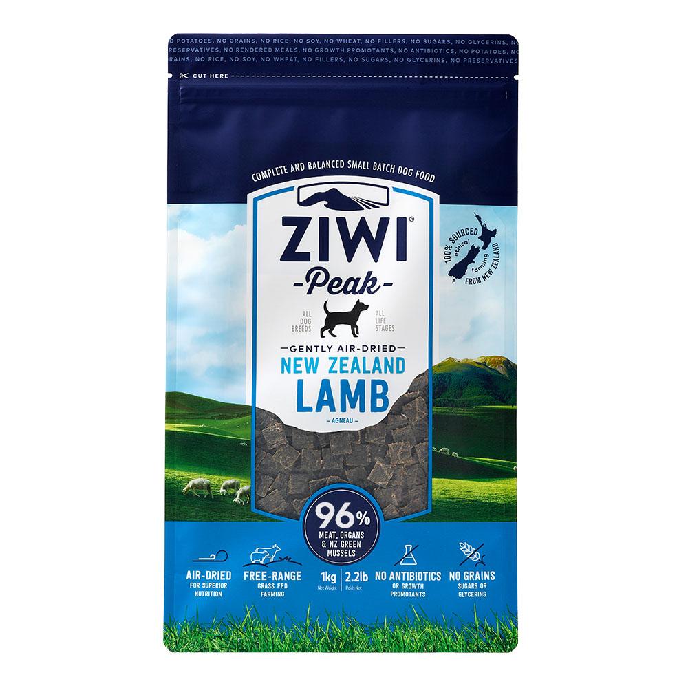 ZiwiPeak巔峰 96%鮮肉狗 羊肉 1KG