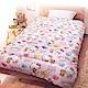 享夢城堡 法蘭絨暖暖毯被150x195cm-HELLO KITTY 女孩風-粉 product thumbnail 1