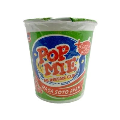 POP MIE 青檸雞肉風味杯湯麵(77g)