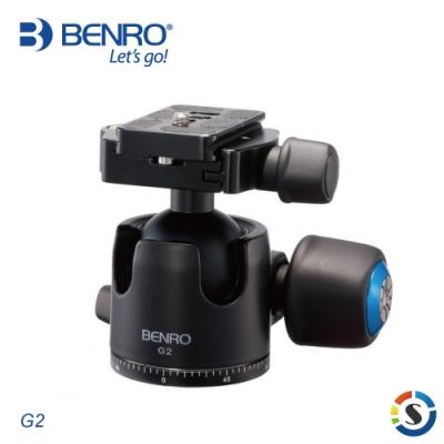 BENRO百諾 G2 G系列鎂合金低重心球型雲台