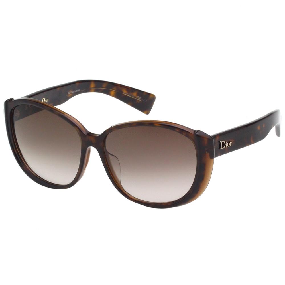Dior 經典復古 太陽眼鏡(琥珀色)
