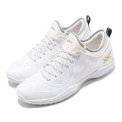 Asics 籃球鞋 Glide Nova FF 襪套式 男鞋 亞瑟士 包覆 舒適 進階 白 灰 1061A003118