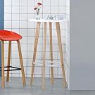 Boden-泰瑪2尺雙色吧台桌-高腳桌-60x60x105cm
