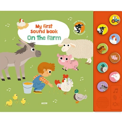 My First Sound Book:On The Farm 我的第一本有聲書:農場篇