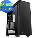 技嘉B450平台[皇者天將]R5六核GTX1060獨顯電玩機