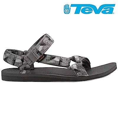 TEVA Original Universal 男休閒涼鞋 圖騰灰