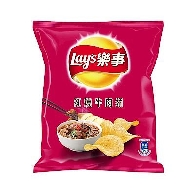 樂事洋芋片 紅燒牛肉麵口味(43g)