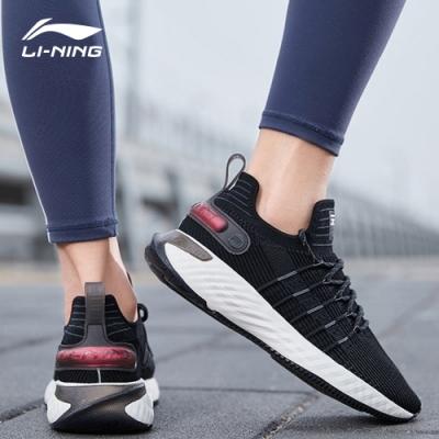 LI-NING 李寧 雲六代Element-女慢跑鞋 標準黑(ARHQ002-1)