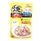 日本 CIAO 鰹魚燒晚餐包 IC-234 高齡貓用 柴魚片&干貝 50g product thumbnail 1