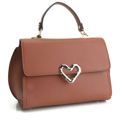 法國盒子 美型話題時尚三用包-硃砂紅
