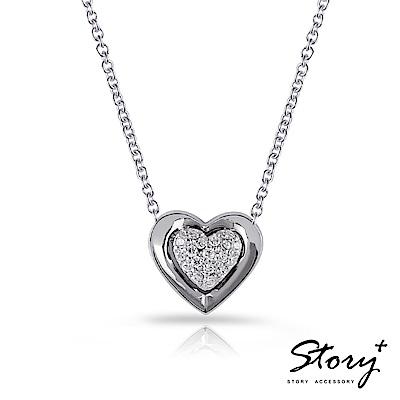 STORY故事銀飾-粉領系列-漾動心情 純銀項鍊