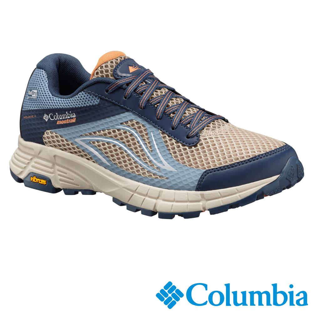 Columbia哥倫比亞  女款-黃金大底防水野跑鞋-藍色UBL46390BL
