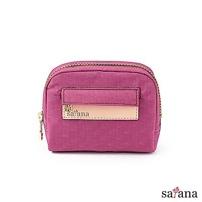satana - Soldier Mini隨身化妝包/零錢包 - 霧紫紅