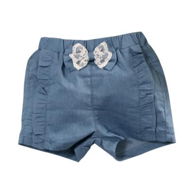 女童牛仔短褲 k51298 魔法Baby