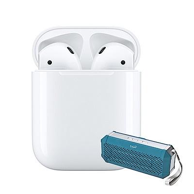 [喇叭組合] Apple 第2代 AirPods 藍芽耳機 (搭配有線充電盒)