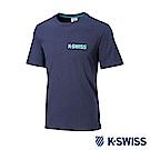 K-SWISS History Story Tee印花短袖T恤-男-藍