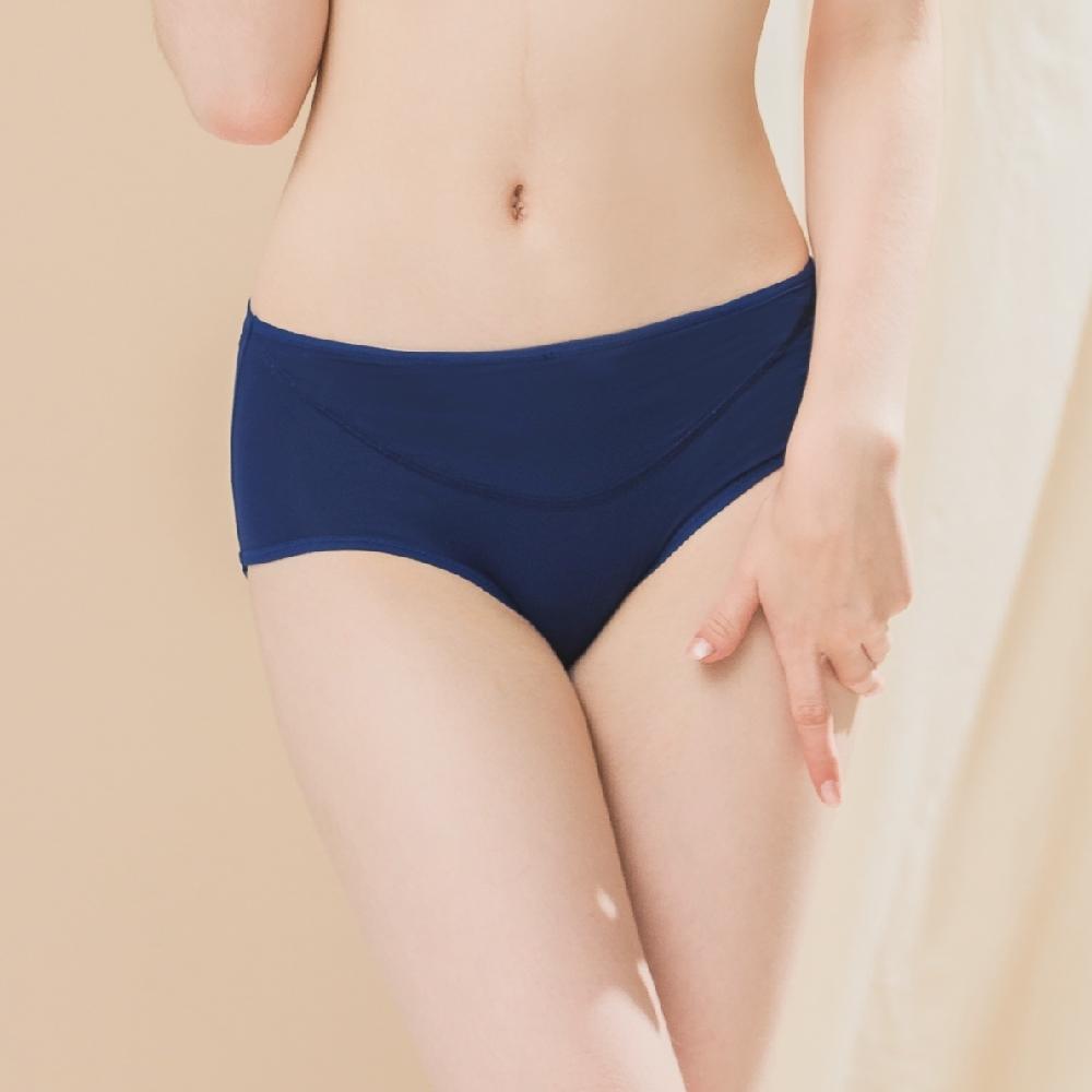 可蘭霓Clany 台灣製遠紅外線暖宮防漏透氣 M-XL 生理褲 奇幻冰島
