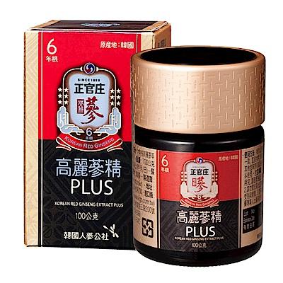 正官庄 高麗蔘精PLUS(100g/瓶)