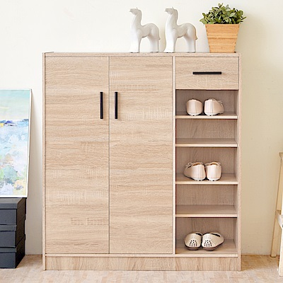 《HOPMA》DIY巧收大容量二門一抽鞋櫃