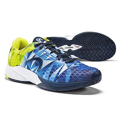 HEAD奧地利 Revolt Pro 3.0 男網球鞋-深藍/黃