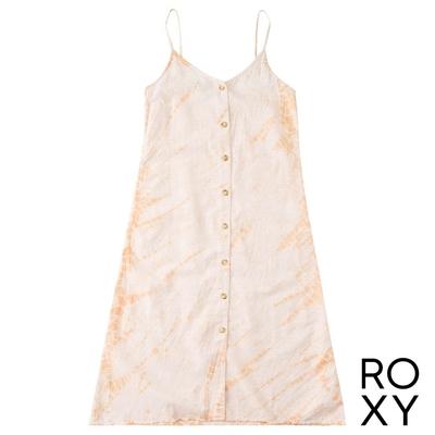 【ROXY】WILD TIES 洋裝 粉橘