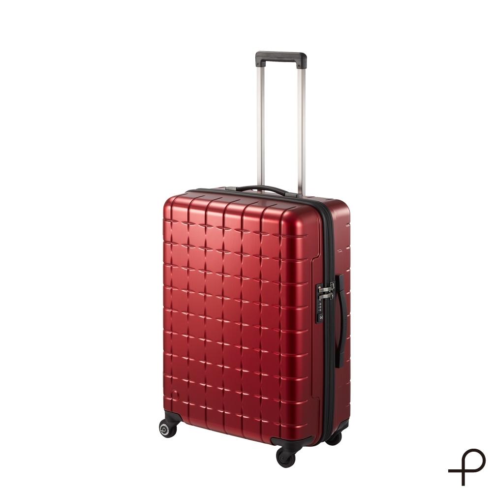 【日本製造PROTECA行李箱】開輝系列26吋-360°自由取物行李箱(紅色)