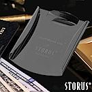 美國STORUS 聰明卡片錢夾 專利時尚設計-霧面黑 鈔票夾 信用卡 名片夾 西裝配件