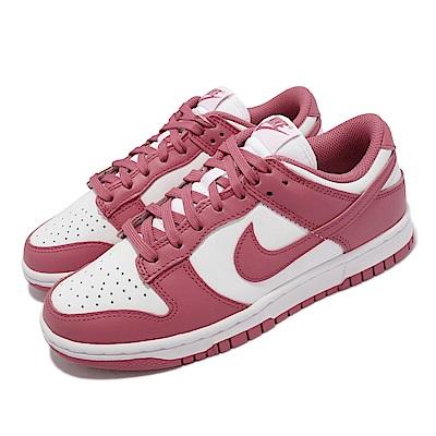 Nike 休閒鞋 W Dunk Low 復古 女鞋 Archeo Pink 玫瑰粉 滑板 白 粉 DD1503-111
