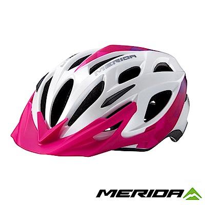 《MERIDA》美利達 CHARGER 安全帽 白/紫