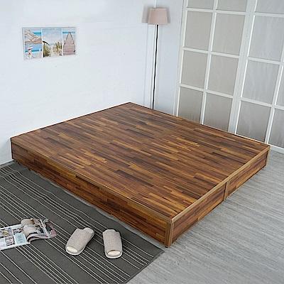 Homelike 日式床台-雙人加大6尺(六色)