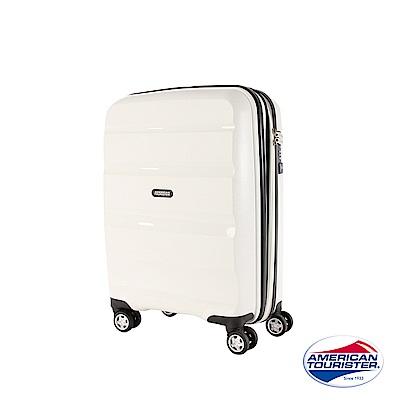 AT美國旅行者 20吋Bon-Air DLX可擴充PP材質飛機輪登機箱(白)