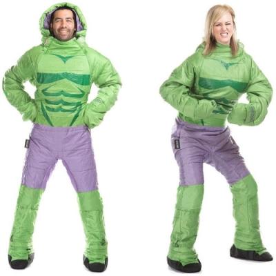 Selk Bag 神客睡袋人 MARVEL 英雄聯盟保暖睡袋 綠巨人 7°C
