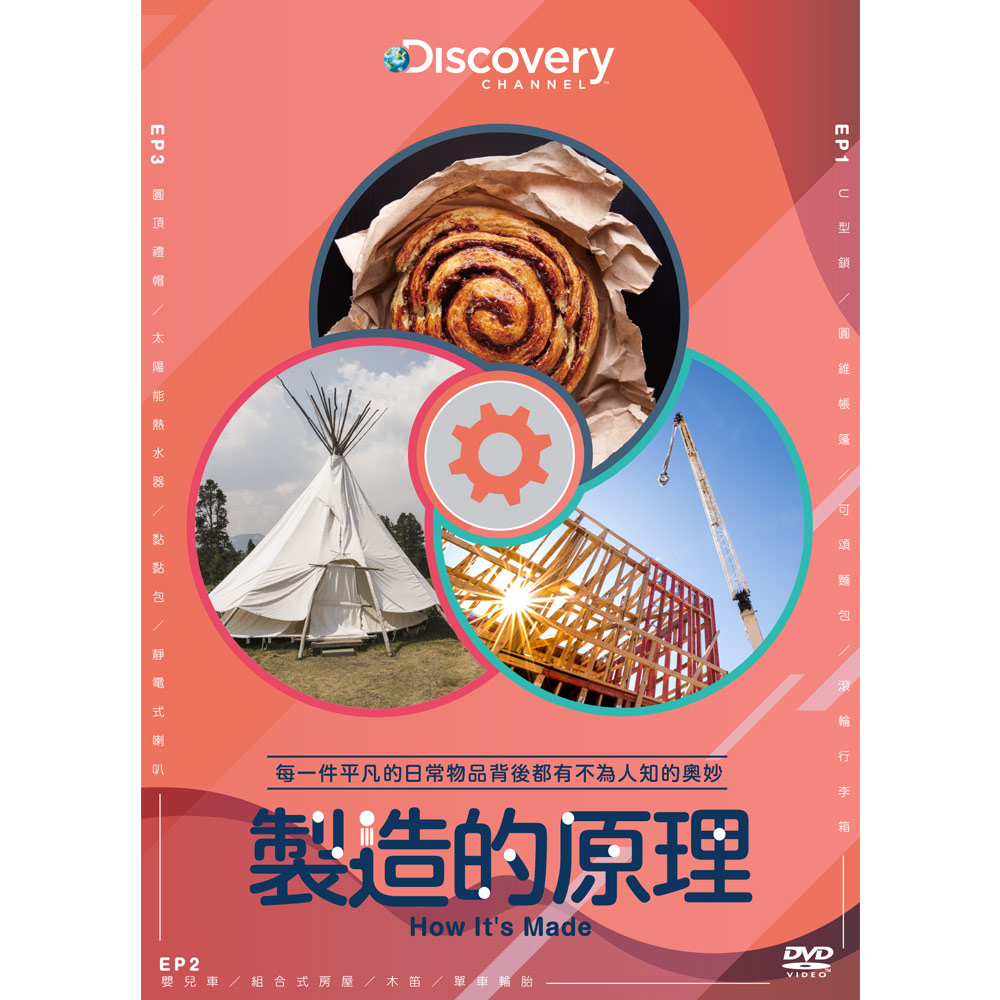 製造的原理(共3集) DVD