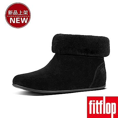 FitFlop SARAH SLIPPER BOOTIES-黑