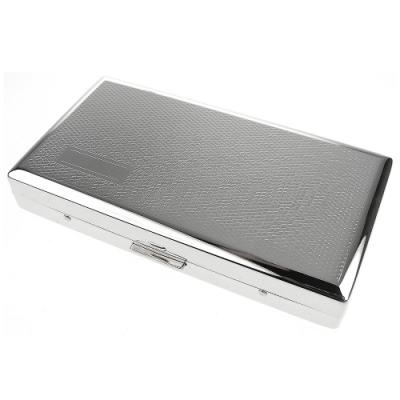 Pearl 珍珠-日本進口~高質感長煙盒(菱格紋款)