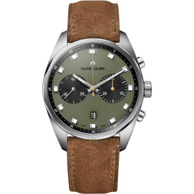Favre-Leuba域峰表Chief系列Sky Chief Chronograph腕錶(00.10202.08.27.50)-43mm