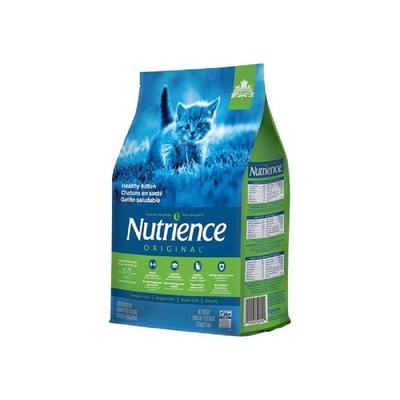 【2入組】Nutrience紐崔斯ORIGINAL田園糧-幼貓配方(雞肉+田園蔬果) 1.13kg(2.5.lbs) (購買第二件贈送寵鮮食零食1包)
