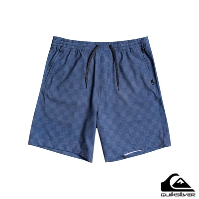 【QUIKSILVER】ELASTIC CHECKER AMPHIBIAN 18水陸浪游褲 海軍藍