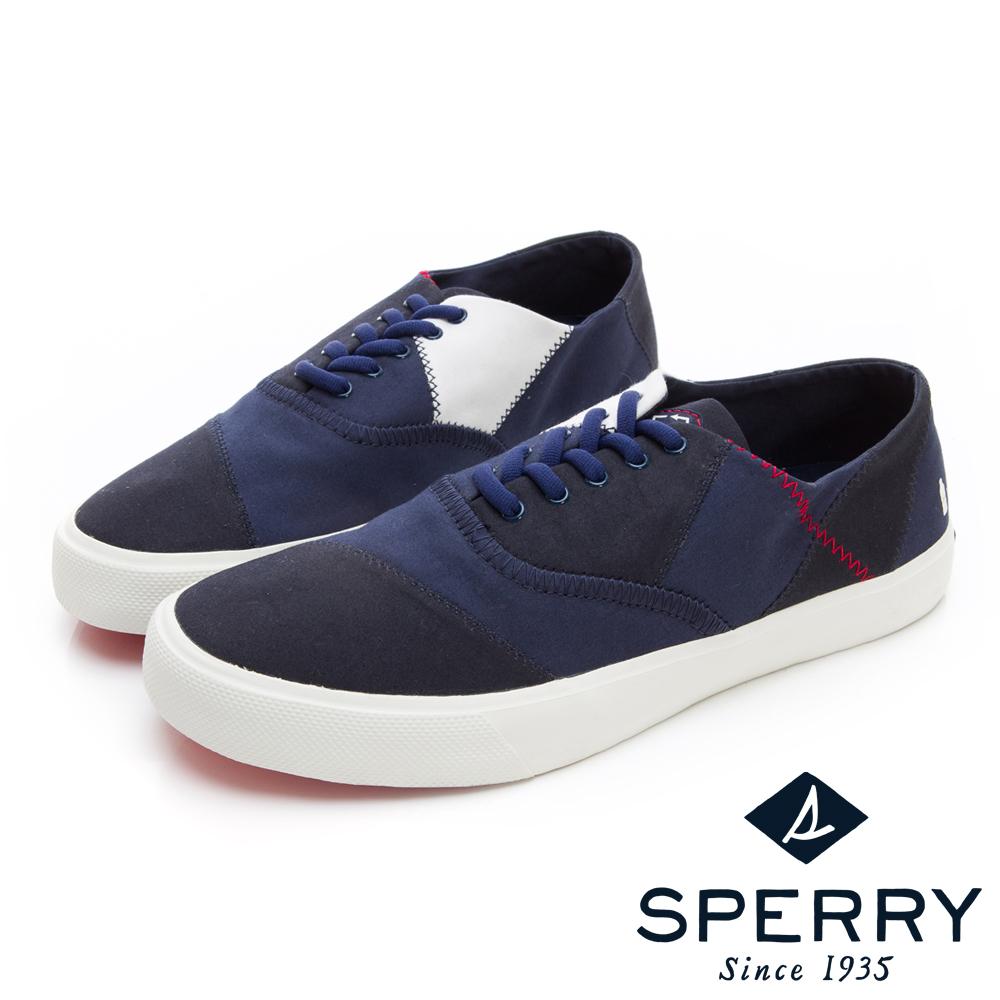 SPERRY BIONIC 撞色拼接帆布鞋(男)-深藍