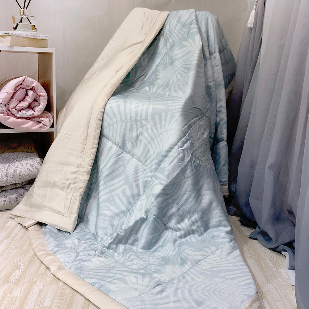 澳洲Simple Living 100%天絲超水感舒眠涼被5x6尺-(竹光葉影)