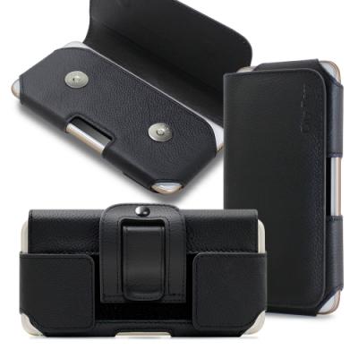 City 舒適頂級 Samsung Galaxy Note10 真皮腰掛皮套