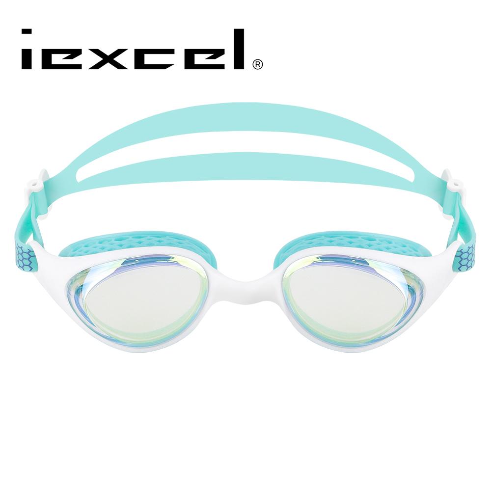 iexcel 蜂巢式電鍍專業光學度數泳鏡 VX-961