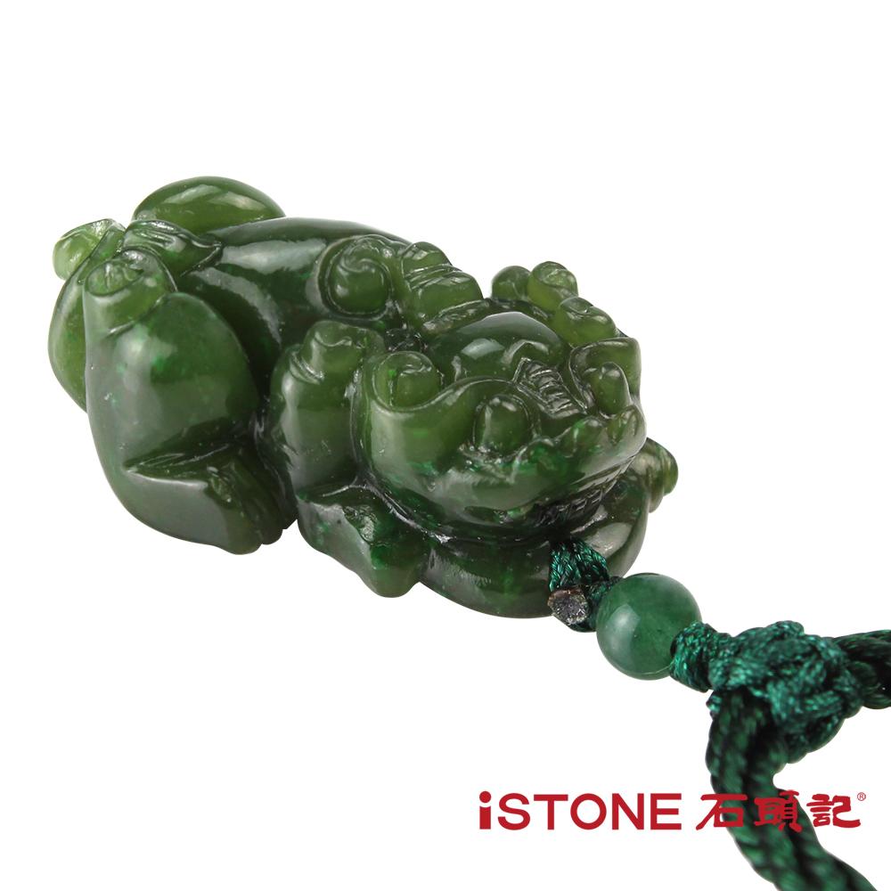 石頭記 碧玉貔貅項鍊-避邪納財