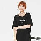 H:CONNECT 韓國品牌 女裝 - 小設計一件式連身洋裝 - 黑(快)