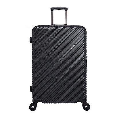 SKYLINE FRAME-28吋旅行箱-鐵灰編織紋 OD9077A28GY